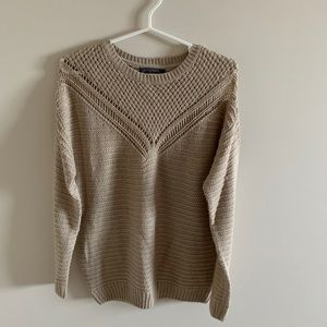 💚5 for 20$💚 Tan Chunky Knit Sweater